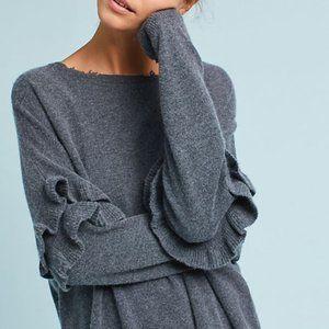 Current Elliott Ruffle Sleeve Sweater